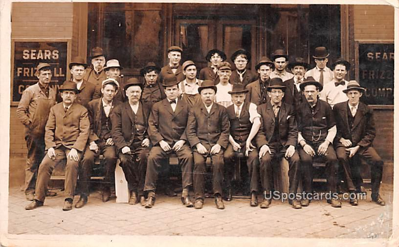Sears Employees - Davenport, Iowa IA Postcard