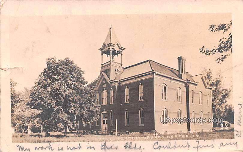 School - Grundy Center, Iowa IA Postcard