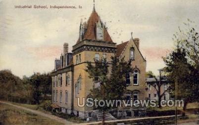 Industrial School - Independence, Iowa IA Postcard