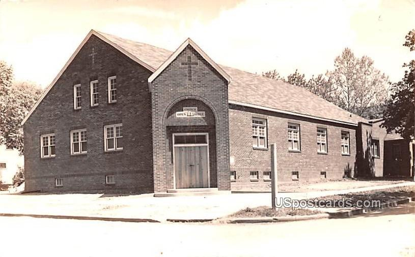 Church of the Open Bible - Iowa Falls Postcards, Iowa IA Postcard