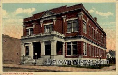 Elks' Building - Keokuk, Iowa IA Postcard