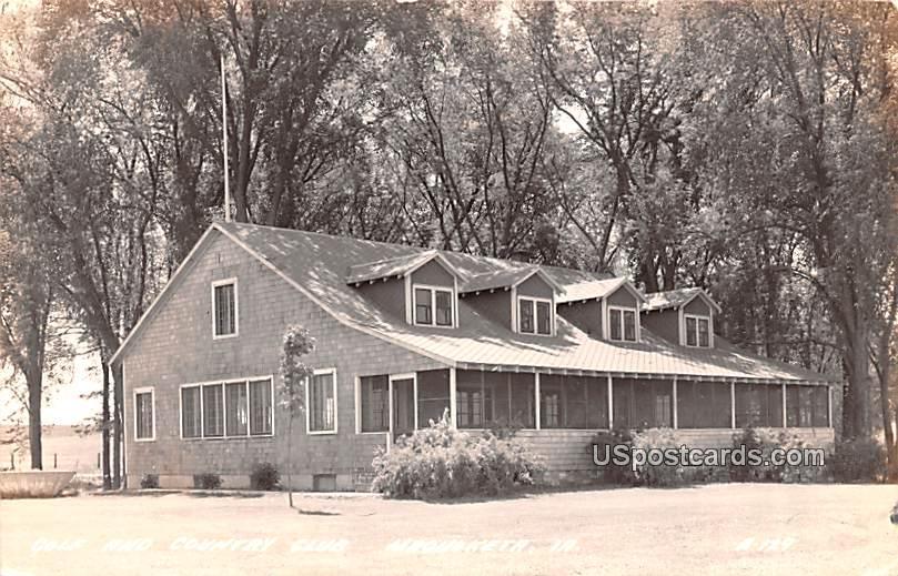 Golf and Country Club - Maquoketa, Iowa IA Postcard