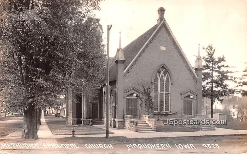 Methodist Episcopal Church - Maquoketa, Iowa IA Postcard