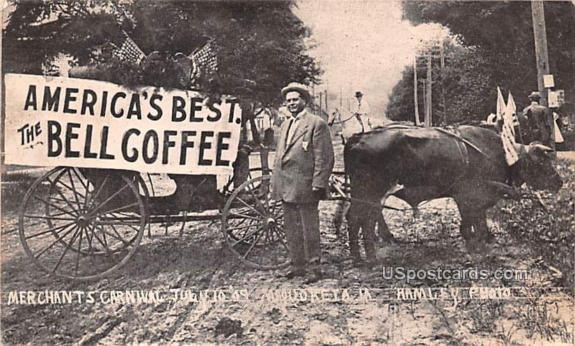 Merchants Carnival July 10, 1909 - Maquoketa, Iowa IA Postcard
