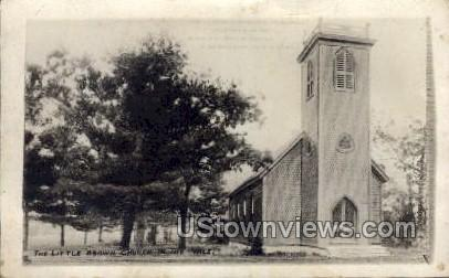 The Little Brown Church in the Vale  - Misc, Iowa IA Postcard