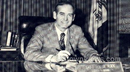 Robert D. Ray, Governor - Misc, Iowa IA Postcard