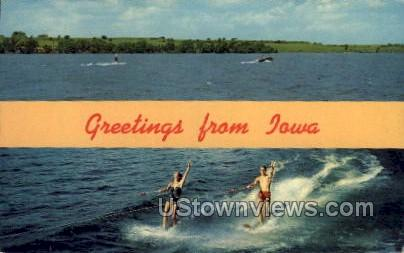 Greetings from Iowa - Misc Postcard