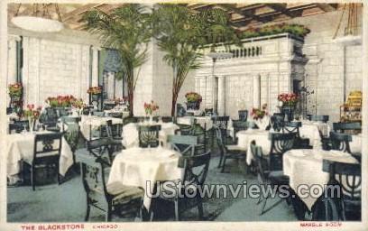 The Blackstone, Marble Room - Misc, Iowa IA Postcard