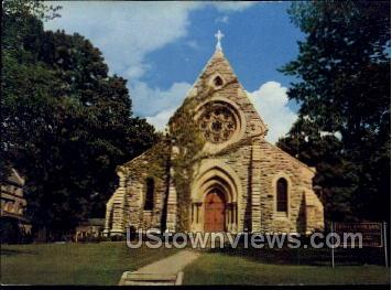 Trinity Episcopal Cathedral - Misc, Iowa IA Postcard