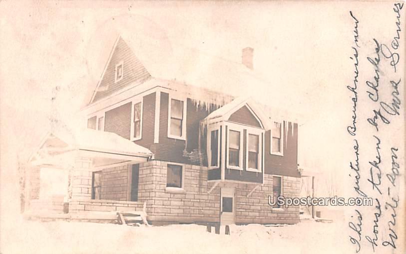 Winter Residence - Misc, Iowa IA Postcard
