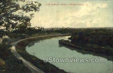 The Curve - Cedar Falls, Iowa IA Postcard