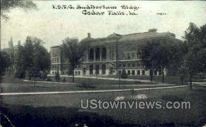 I.S.T.C Auditorium - Cedar Falls, Iowa IA Postcard