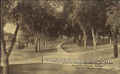 A.S.T.C View from Campus - Cedar Falls, Iowa IA Postcard