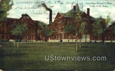 Iowa State Normal College - Cedar Falls Postcard