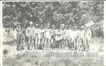 1977, Butterbean Squad - Misc, Iowa IA Postcard