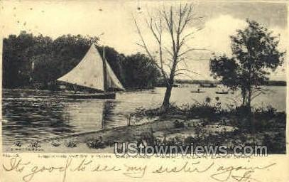 Oakwood Park - Clear Lake, Iowa IA Postcard