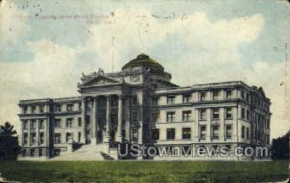 Central State Building - Ames, Iowa IA Postcard