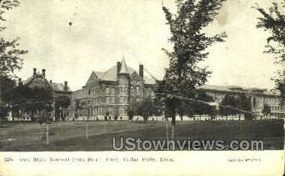 Normal School - Cedar Falls, Iowa IA Postcard