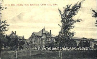 Iowa State Normal - Cedar Falls Postcard