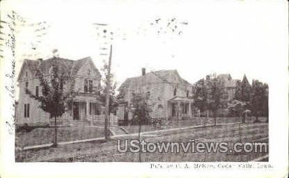 Public - Cedar Falls, Iowa IA Postcard