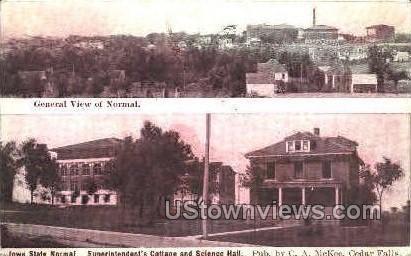 Cottage Science Hall - Cedar Falls, Iowa IA Postcard