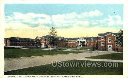 First Slough - Cedar Falls, Iowa IA Postcard