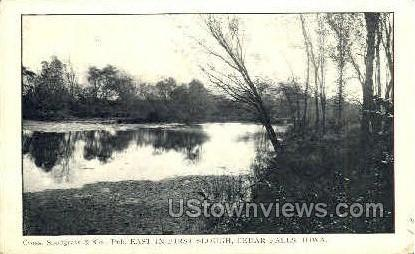 Bartlett Hall - Cedar Falls, Iowa IA Postcard