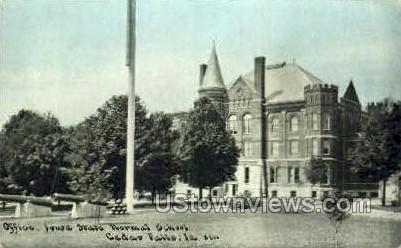 Iowa State Normal School - Cedar Falls Postcard