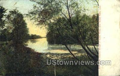 The Second Slough - Cedar Falls, Iowa IA Postcard