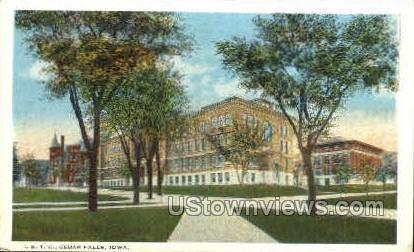 Iowa State Teachers College - Cedar Falls Postcard