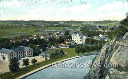 Council Bluffs, Iowa, IA Postcard