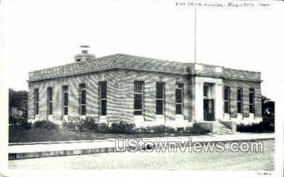 Post Office - Maquoketa, Iowa IA Postcard