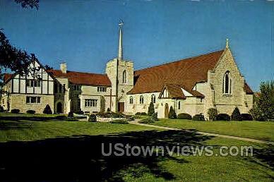 Saint John Lutheran Church - Cedar Falls, Iowa IA Postcard
