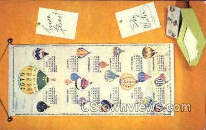 Time Flies - Misc, Iowa IA Postcard