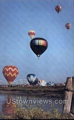Baloons  - Sioux City, Iowa IA Postcard