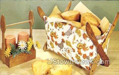 Muffin Maid - Misc, Iowa IA Postcard
