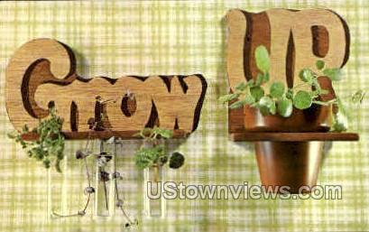 Grow N Show Time - Misc, Iowa IA Postcard