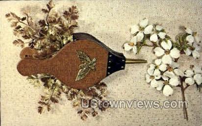 Bellows Planter - Misc, Iowa IA Postcard