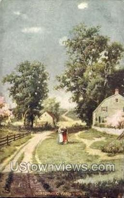 Buttonwood Farm - Misc, Iowa IA Postcard
