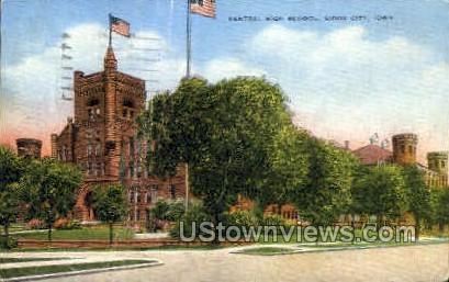 High School - Sioux City, Iowa IA Postcard