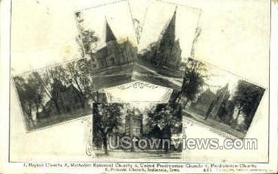 Churches - Misc, Iowa IA Postcard