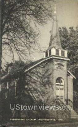 Foursquare Church - Independence, Iowa IA Postcard