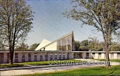 Trinity Methodist Church - Keokuk, Iowa IA Postcard