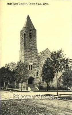 Methodist Church - Cedar Falls, Iowa IA Postcard