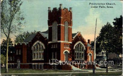 Presbyterian Church - Cedar Falls, Iowa IA Postcard