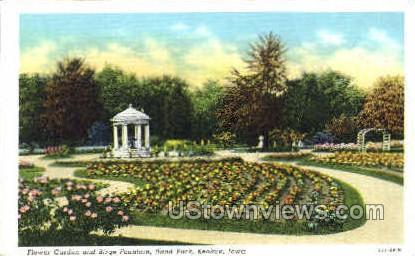 Rand Park - Keokuk, Iowa IA Postcard
