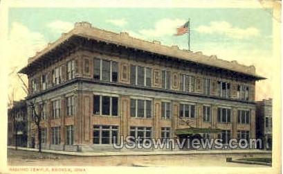 Masonic Temple - Keokuk, Iowa IA Postcard