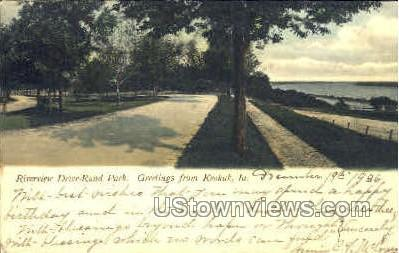 Greetings From - Keokuk, Iowa IA Postcard