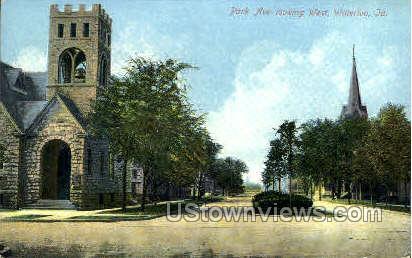 Park Avenue - Waterloo, Iowa IA Postcard