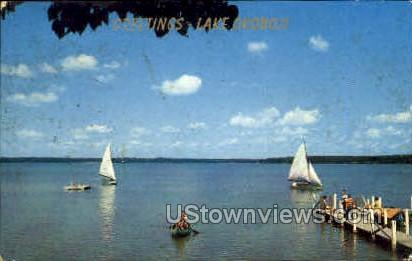 Greetings From - Lake Okoboji, Iowa IA Postcard